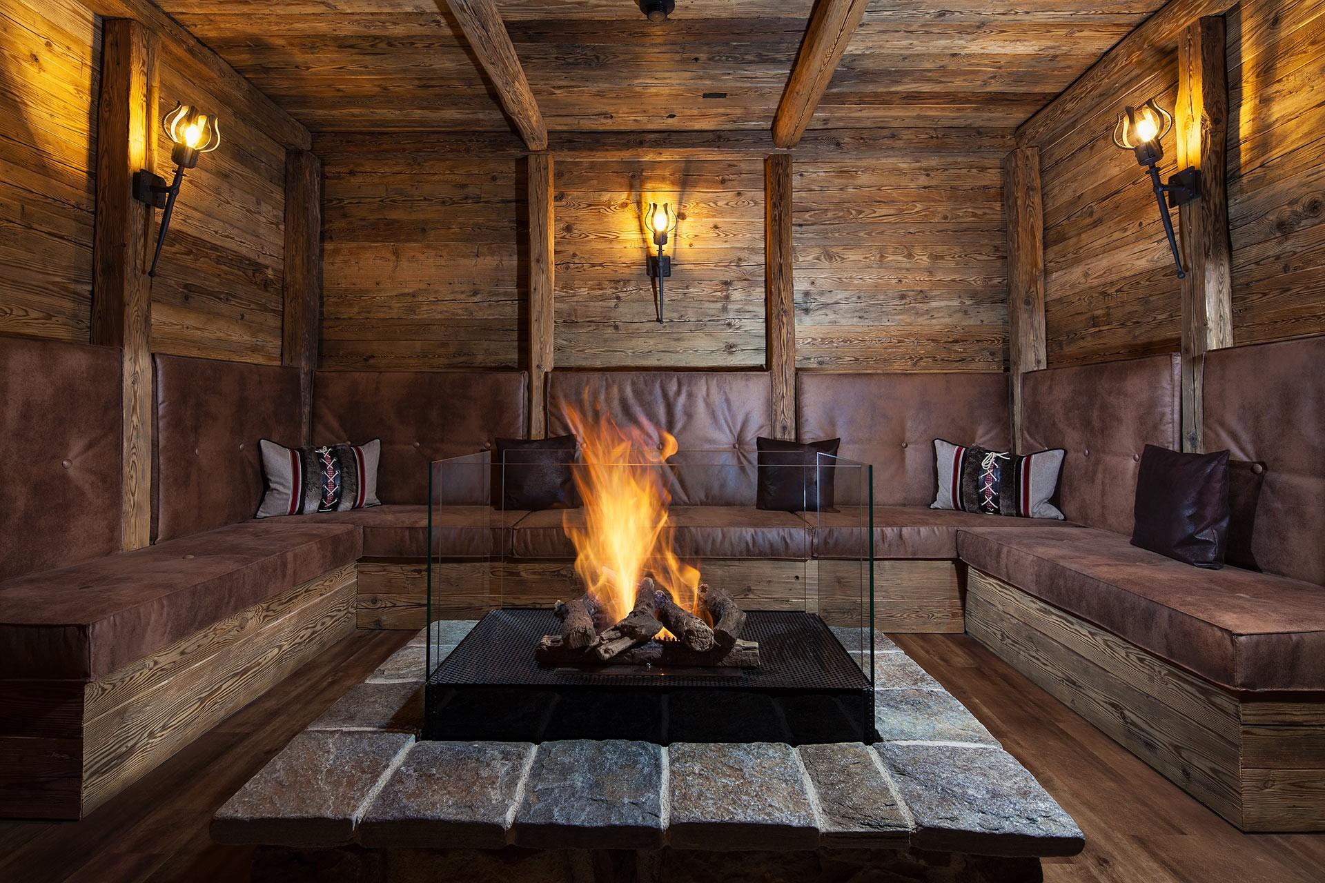 hotel alpenhof feuerstelle